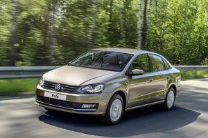 Volkswagen при производстве Polo Sedan в России перепутал таблички