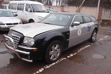 МВД Беларуси избавляется от машины из сопровождения Лукашенко