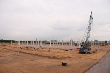 Hyundai начал строить в России гигантский завод двигателей