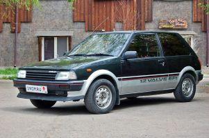 Народное ретро. Toyota Starlet P71 1986 года. Молодая, настырная…