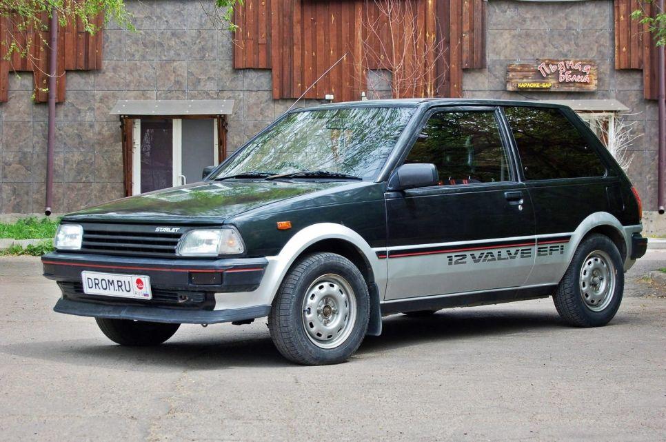 Народное ретро. Toyota Starlet P71 1986 года. Всё в имени твоем