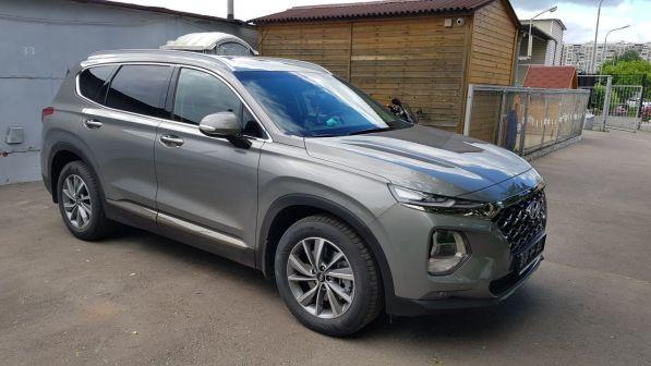 Hyundai Santa Fe 2020 - отзыв владельца