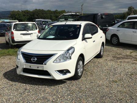 Nissan Latio 2015 - отзыв владельца