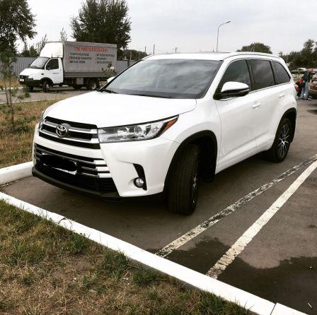 Toyota Highlander 2017 - отзыв владельца