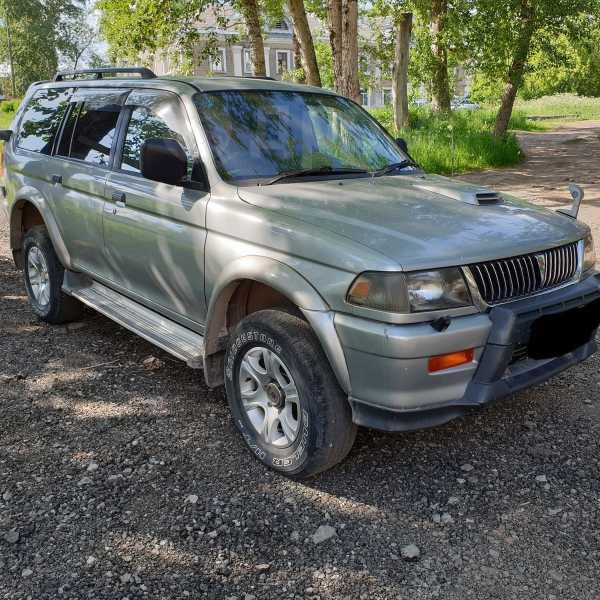 Mitsubishi Challenger, 1996 год, 450 000 руб.