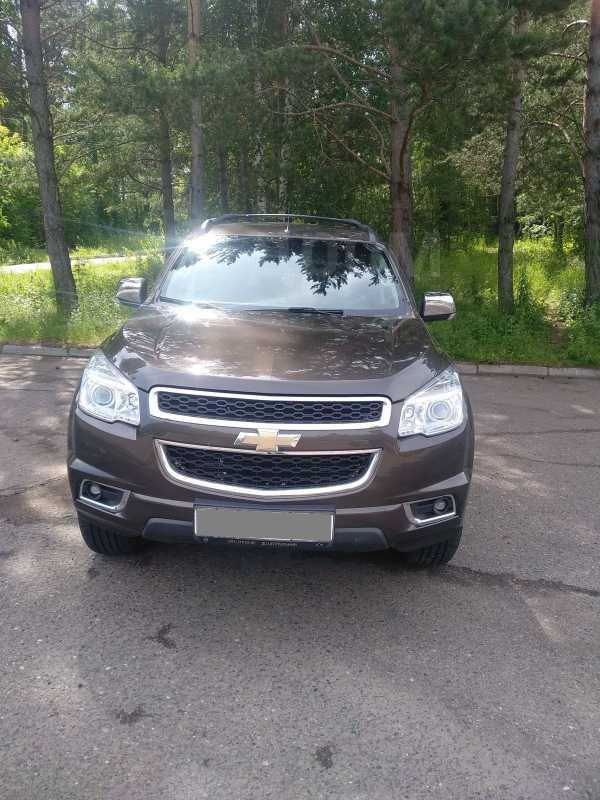 Chevrolet TrailBlazer, 2013 год, 1 280 000 руб.
