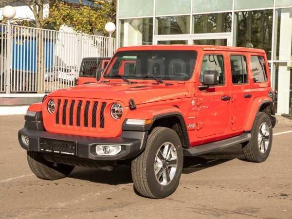 Jeep Wrangler, 2019 год, 4 720 000 руб.