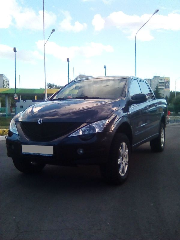SsangYong Actyon Sports, 2011 год, 470 000 руб.