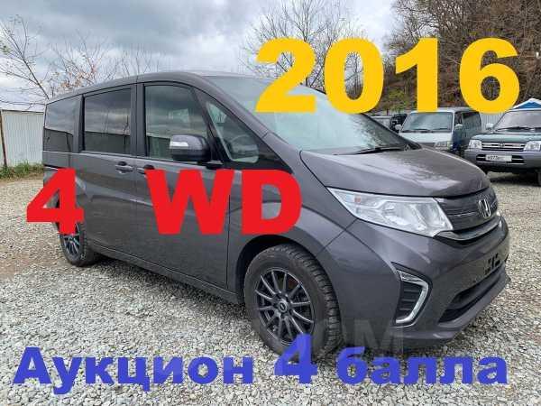 Honda Stepwgn, 2016 год, 1 355 000 руб.
