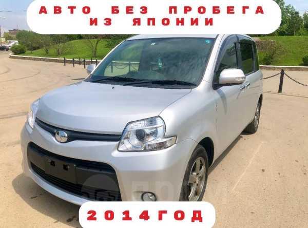 Toyota Sienta, 2014 год, 759 000 руб.