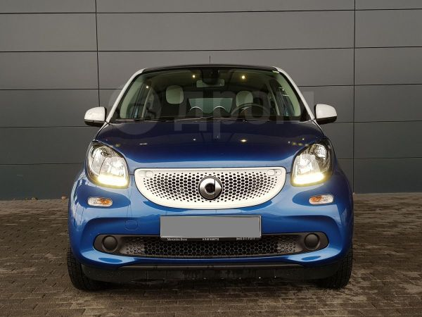 Smart Forfour, 2018 год, 1 125 000 руб.