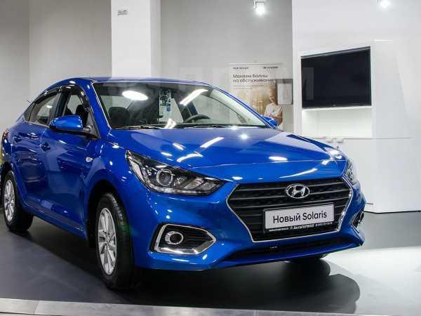 Hyundai Solaris, 2019 год, 977 000 руб.