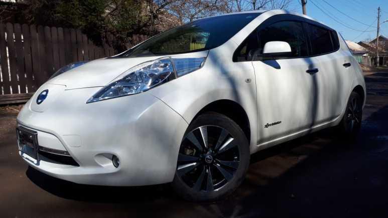Nissan Leaf, 2014 год, 627 000 руб.