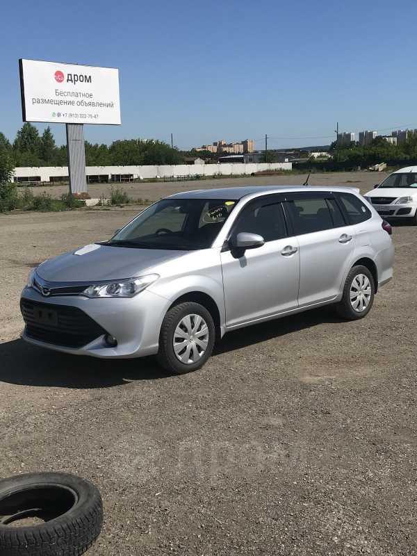 Toyota Corolla Fielder, 2015 год, 849 000 руб.