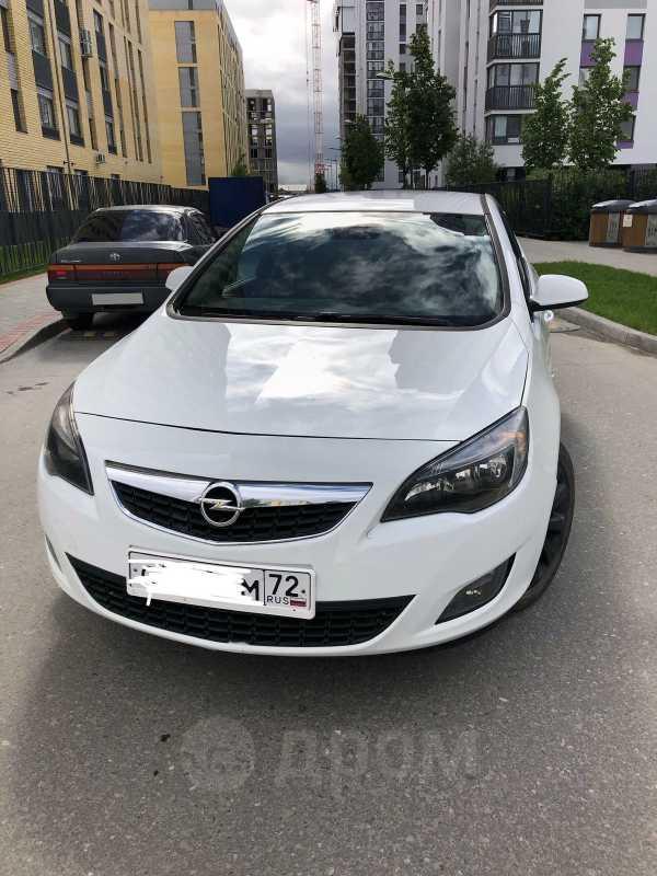 Opel Astra, 2010 год, 525 000 руб.