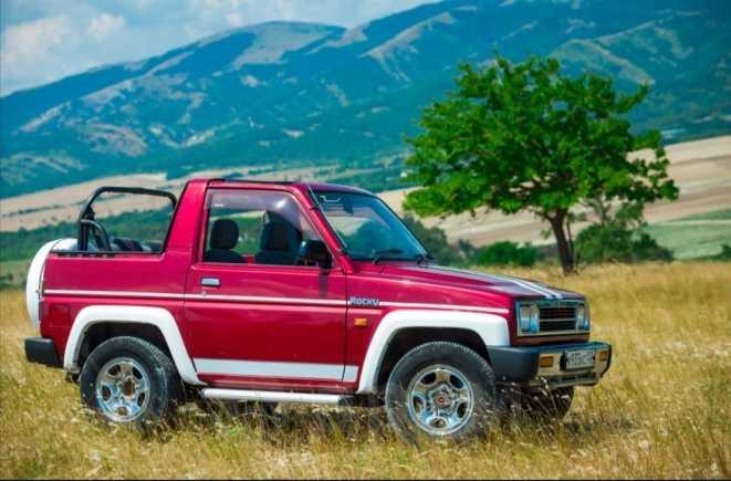 Daihatsu Rocky, 1992 год, 345 000 руб.