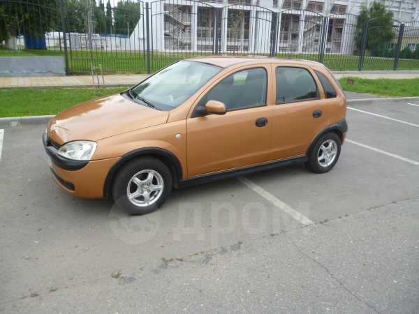 Opel Corsa, 2003 год, 185 000 руб.