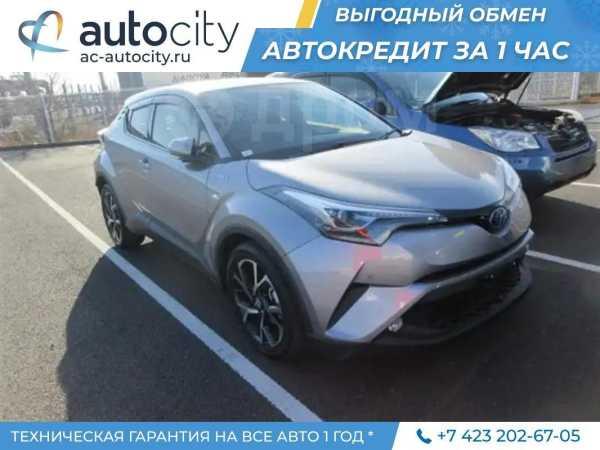 Toyota C-HR, 2017 год, 1 530 000 руб.