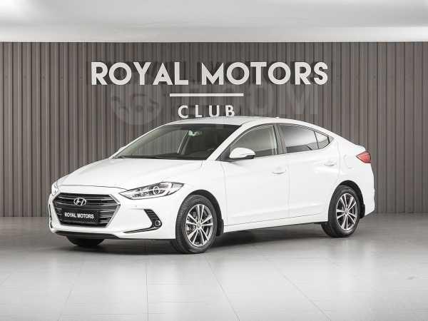Hyundai Elantra, 2018 год, 985 000 руб.