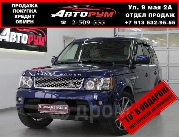 Land Rover Range Rover Sport, 2009 год, 1 147 000 руб.