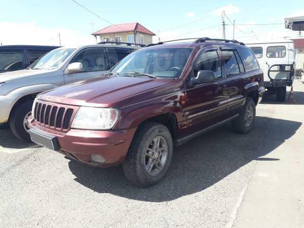 Jeep Grand Cherokee, 2000 год, 555 000 руб.