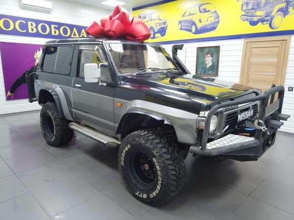 Nissan Safari, 1993 год, 600 000 руб.