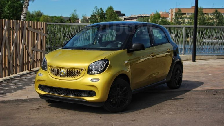 Smart Forfour, 2017 год, 650 000 руб.