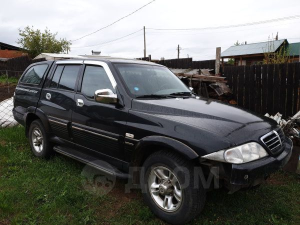 SsangYong Musso Sports, 2006 год, 420 000 руб.