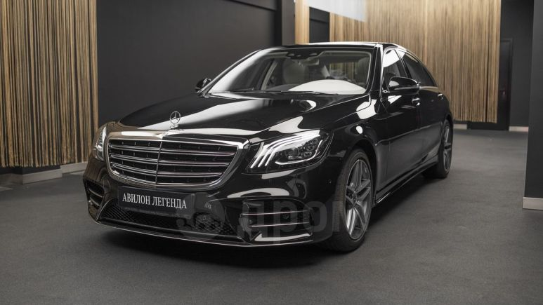 Mercedes-Benz S-Class, 2019 год, 7 554 615 руб.
