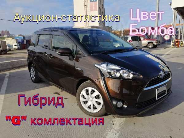 Toyota Sienta, 2016 год, 835 000 руб.
