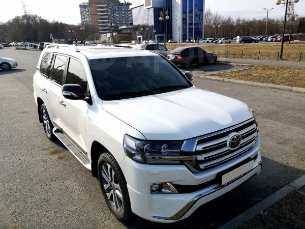 Toyota Land Cruiser, 2017 год, 4 400 000 руб.