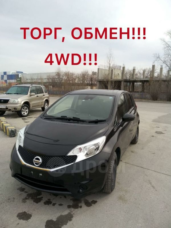 Nissan Note, 2016 год, 565 000 руб.