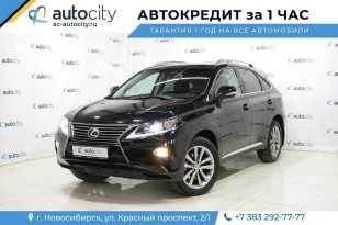 Новосибирск Lexus RX350 2012