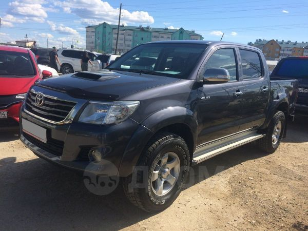 Toyota Hilux Pick Up, 2012 год, 1 330 000 руб.