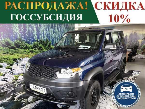 УАЗ Патриот, 2019 год, 863 890 руб.