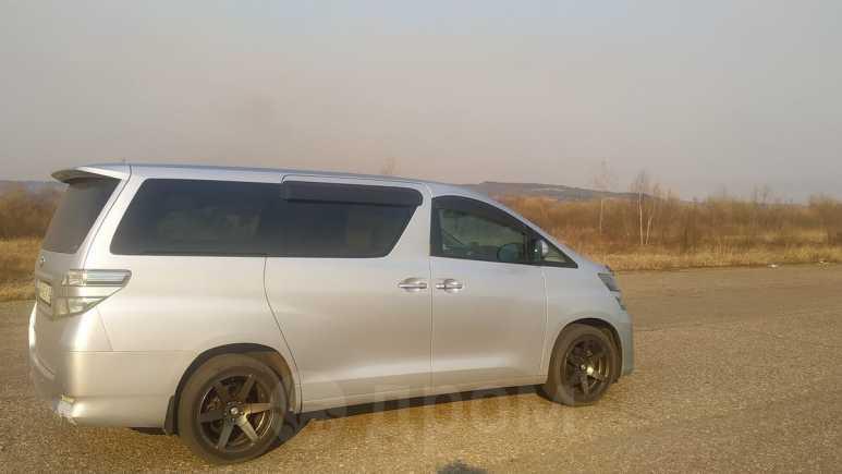 Toyota Vellfire, 2008 год, 1 130 000 руб.