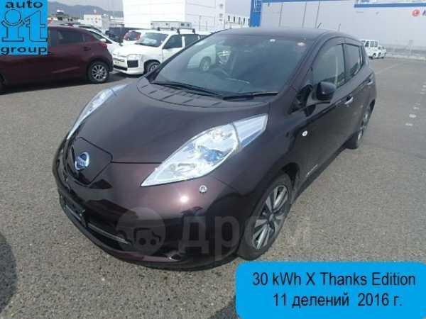Nissan Leaf, 2016 год, 695 000 руб.