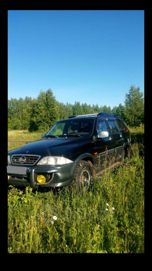 SsangYong Musso, 2001 год, 250 000 руб.