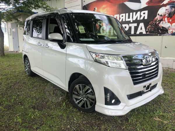 Toyota Roomy, 2017 год, 630 000 руб.