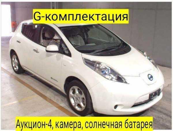 Nissan Leaf, 2012 год, 335 000 руб.