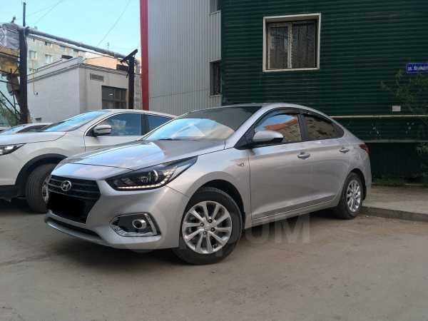 Hyundai Solaris, 2018 год, 750 000 руб.