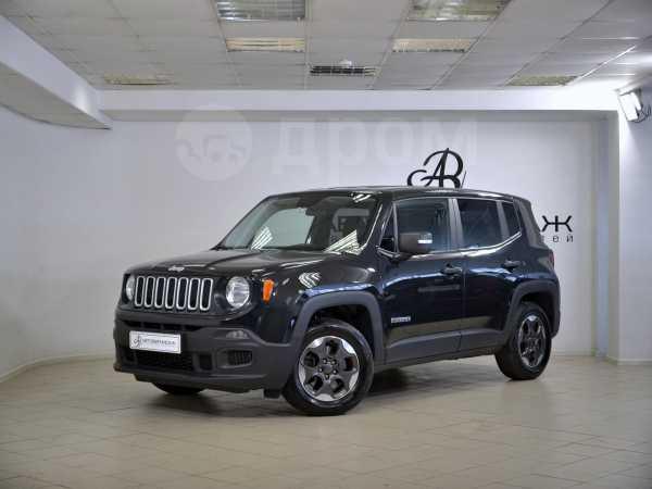 Jeep Renegade, 2017 год, 1 100 000 руб.