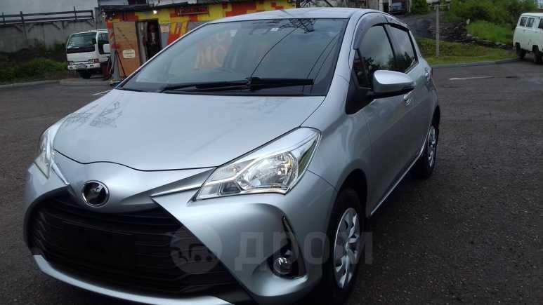 Toyota Vitz, 2017 год, 680 000 руб.