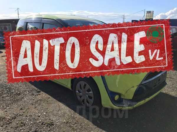 Toyota Sienta, 2015 год, 575 000 руб.