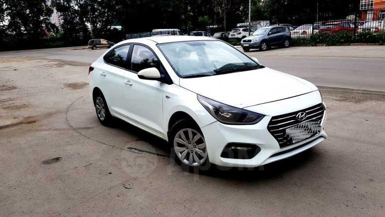 Hyundai Solaris, 2017 год, 525 000 руб.