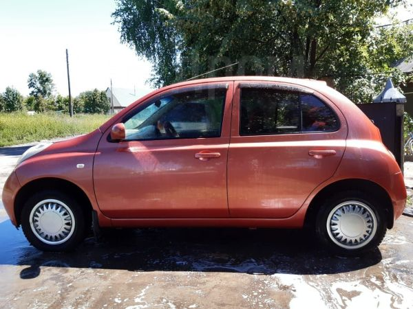 Nissan March, 2002 год, 215 000 руб.
