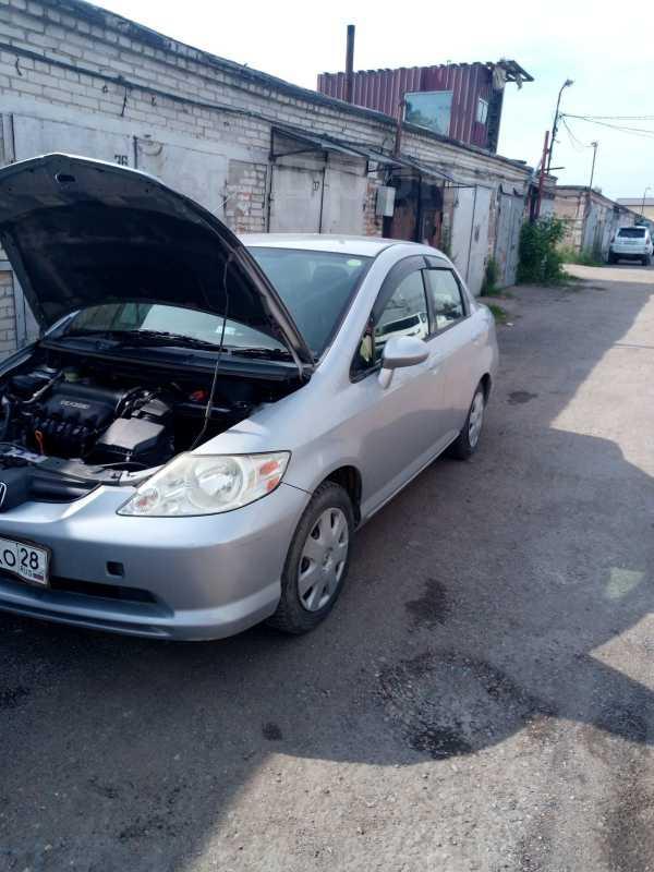 Honda Fit Aria, 2005 год, 250 000 руб.