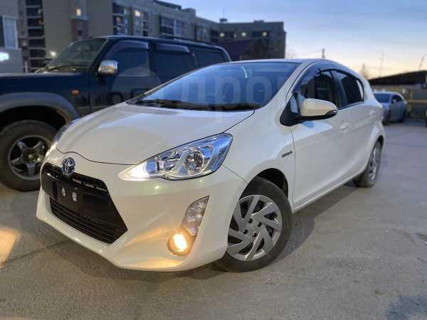 Toyota Aqua, 2016 год, 665 000 руб.