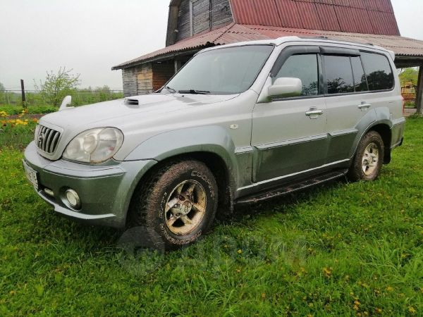 Hyundai Terracan, 2001 год, 268 000 руб.