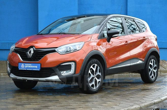 Renault Kaptur, 2017 год, 825 000 руб.